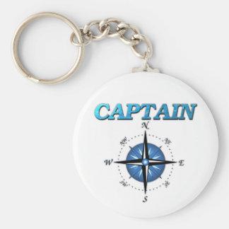 De kapitein en het Kompas namen toe Sleutelhanger