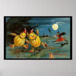 De Karakters en de Heks van de Pompoen van Hallowe