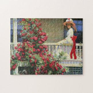 De karmozijnrode Wandelaar Philip Hale Fine Art Foto Puzzels