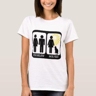 De kat Dame Problem loste op T Shirt