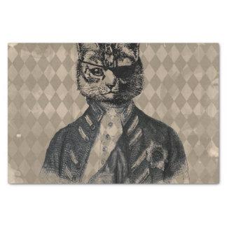 De Kat Grunge van de harlekijn Tissuepapier