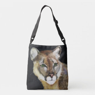 De kat is in de zak crossbody tas