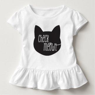 De Kat T -t-shit van Meowt van de controle Kinder Shirts