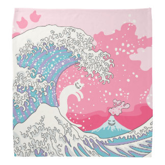 De Kat van Bubblegum Kunagawa Surfer van Bandana