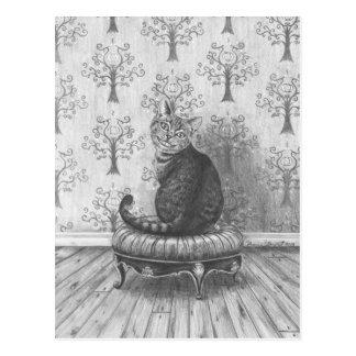 De Kat van Cheshire - Briefkaart