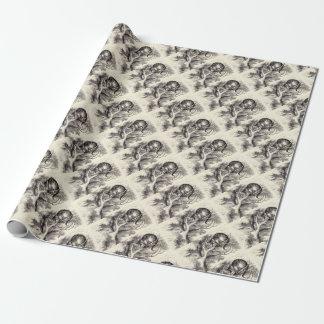 De kat van Cheshire Inpakpapier