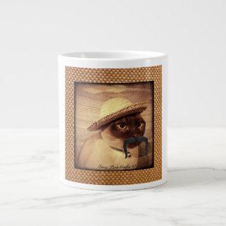 De Kat van de boer Grote Koffiekop