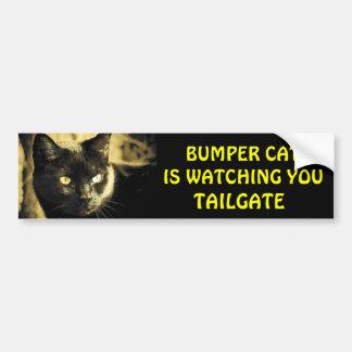 De Kat van de bumper let op LAADKLEP 16 Bumpersticker