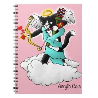 De Kat van de Cupido van de Smoking van de Notitieboek