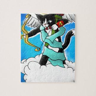 De Kat van de Cupido van de Smoking van de Puzzel