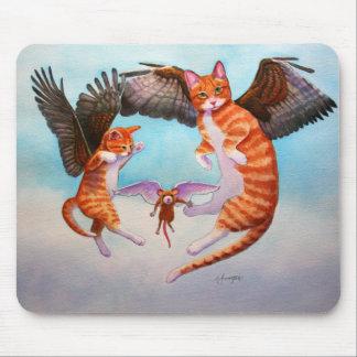 De Kat van de engel en het Spel van de Muis Muismat