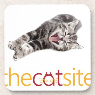 De kat van de geeuw of het Lachen Bier Onderzetters