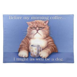 De Kat van de koffie placemat