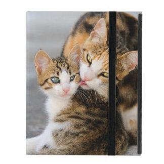 De Kat van de moeder houdt van Leuk Katje - iPad Hoesje