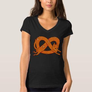 De Kat van de pretzel T Shirt