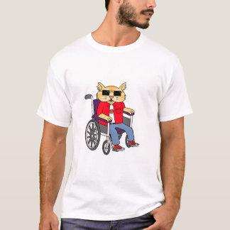 De Kat van de rolstoel T Shirt