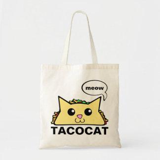 De Kat van de taco Draagtas