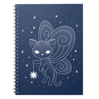 De Kat van het elf - het Kat van de Vleugels van Notitieboek
