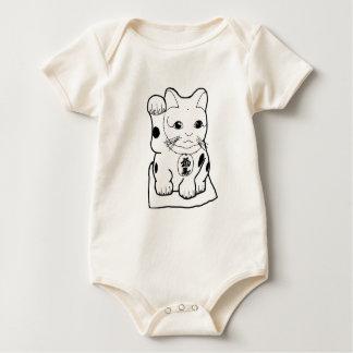 De Kat van het fortuin Baby Shirt