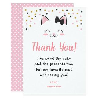 De Kat van het kat dankt u Kaarten