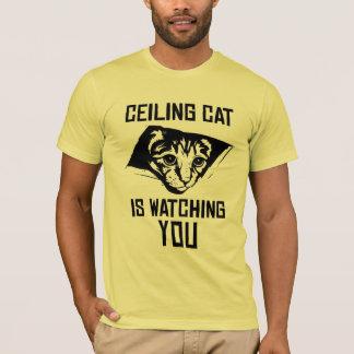 De Kat van het plafond let op U! T Shirt
