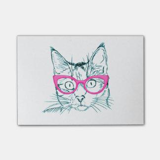De Kat van Hipster Post-it® Notes