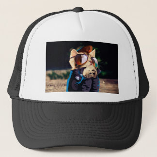 De kat van Rockabilly - fietserkat - Trucker Pet