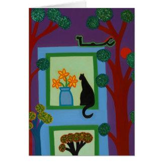De kat van Scheve Halve maan 2008 Briefkaarten 0