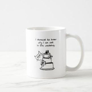 De kat verplettert het Huwelijk - de Grappige Mok