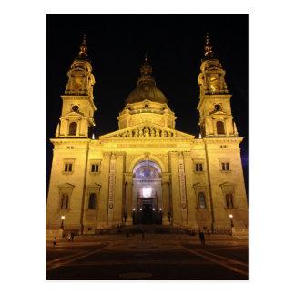De Kathedraal van Boedapest Briefkaart
