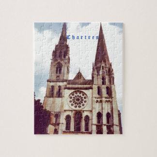 De Kathedraal van Chartres Foto Puzzels