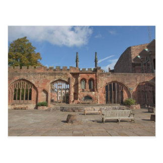 De Kathedraal van Coventry Briefkaart