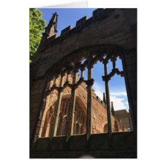 De Kathedraal van Coventry Kaart