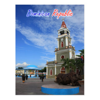 De Kathedraal van de Dominicaanse Republiek Briefkaart