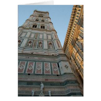 De Kathedraal van Duomo, Florence, Italië Kaart