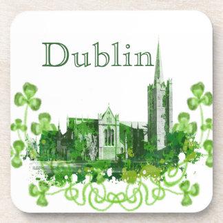 De Kathedraal van heilige Patrick in Dublin Onderzetter