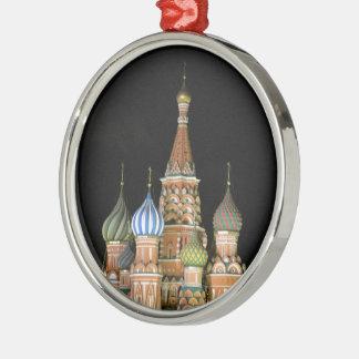 De Kathedraal van het Basilicum van heilige Zilverkleurig Rond Ornament