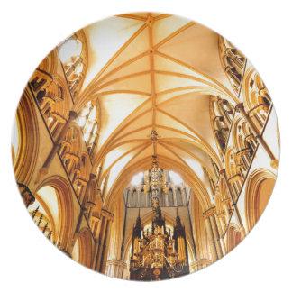 De kathedraal van Lincoln Bord