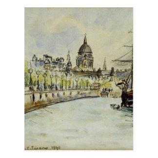 De Kathedraal van Londen, St. Paul door Camille Briefkaart