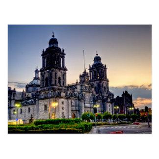 De Kathedraal van Mexico-City Briefkaart