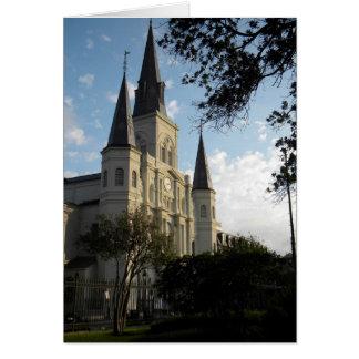 De Kathedraal van New Orleans, Frans Kwart Briefkaarten 0