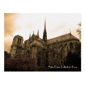 De Kathedraal van Notre Dame Briefkaart