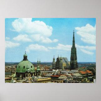 De kathedraal van Oostenrijk, Wenen, St Stephen Poster
