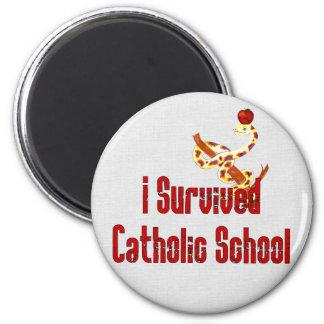 De katholieke Overlevende van de School Magneet
