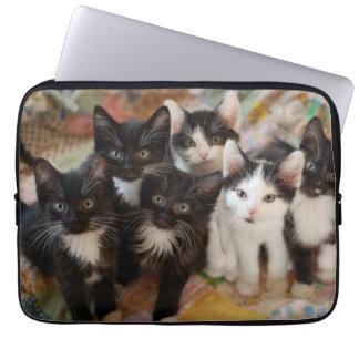 De Katjes van de smoking Laptop Sleeve