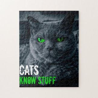 De katten kennen Materiaal Legpuzzel
