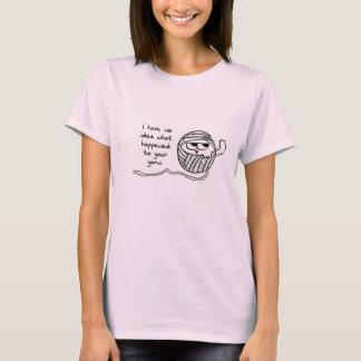 De katten stelen Garen - het Grappige T-shirt van