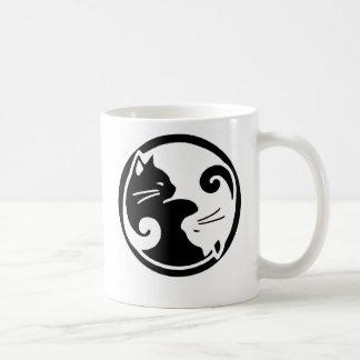 De Katten van Yang van Yin Koffiemok
