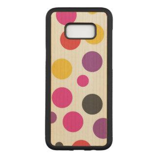 De Kauwgom van de regenboog Polkadot Carved Samsung Galaxy S8+ Hoesje