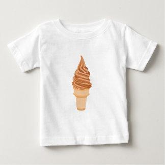De Kegel van het roomijs Baby T Shirts